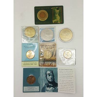 Assorted Commemorative Coins