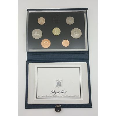1988 Royal Mint UK Proof Coin Set