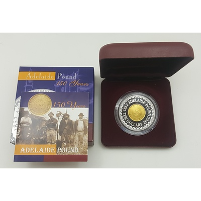 2002 Adelaide Pound Proof Coin