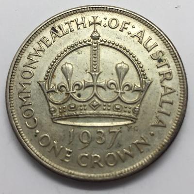 Australian 1937 Crown