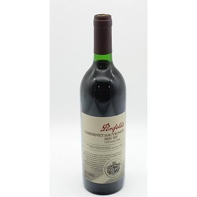 Penfolds Vintage 1994 Cabernet Sauvignon Bin 707 750ml
