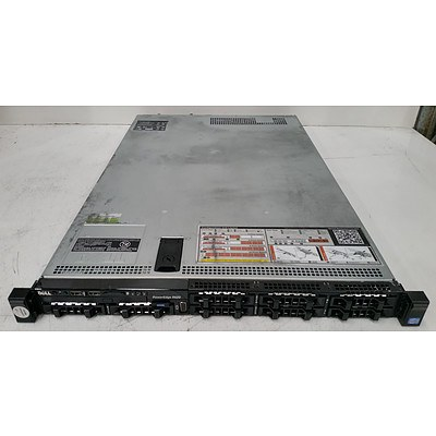 Dell PowerEdge R620 Dual Octa-Core Xeon (E5-2650 0) 2.00GHz 1 RU Server