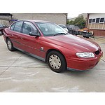 5/2001 Holden Commodore Executive VX 4d Sedan Red 3.8L