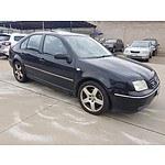 10/2005 Volkswagen Bora 2.3L V5 1J 4d Sedan Black 2.3L