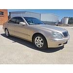 9/2002 Mercedes-Benz S320 W220 4d Sedan Gold 3.2L