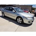 1/2005 Mazda Mazda6 Classic GG 05 UPGRADE 4d Sedan Silver 2.3L