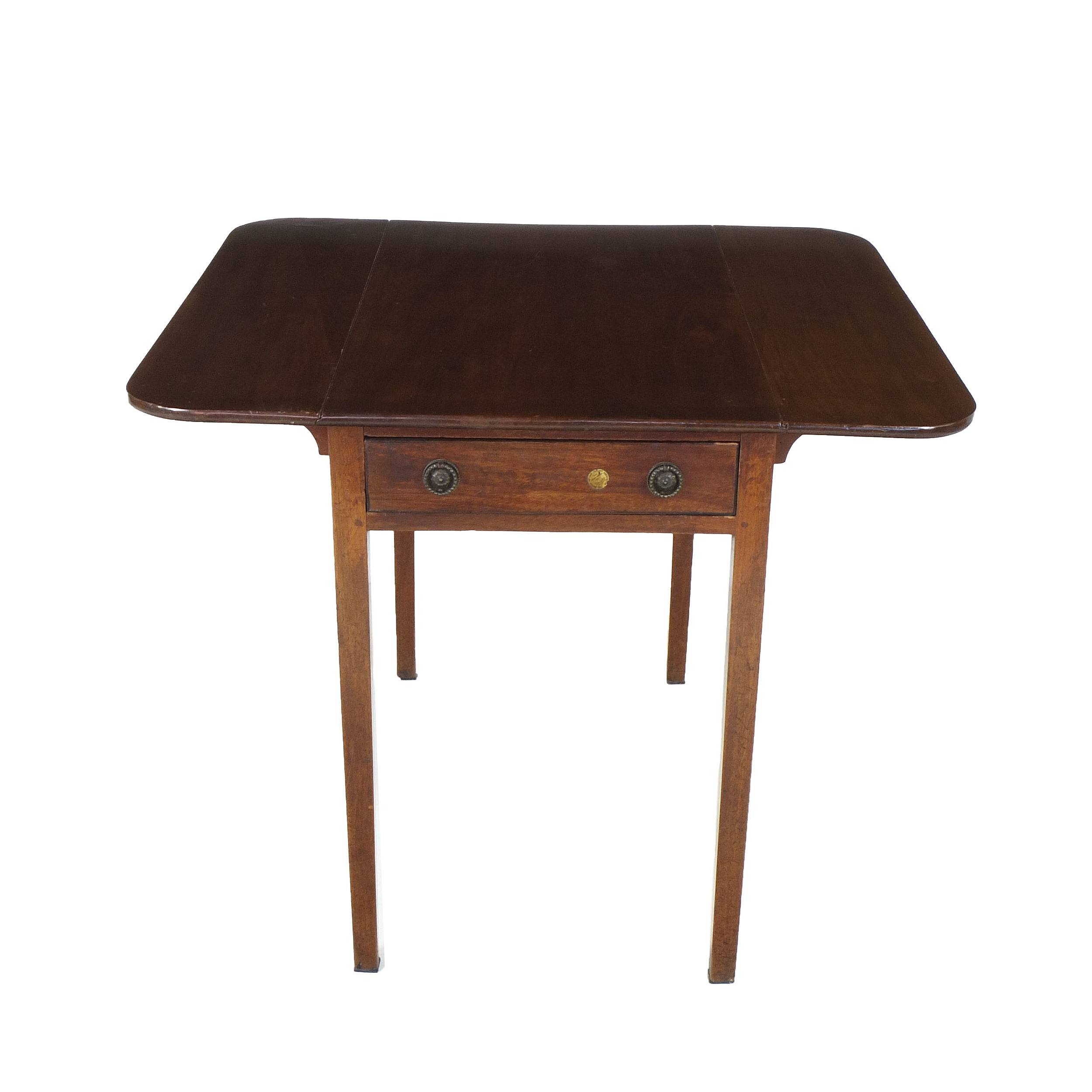 'Georgian Mahogany Pembroke Table Circa 1800'