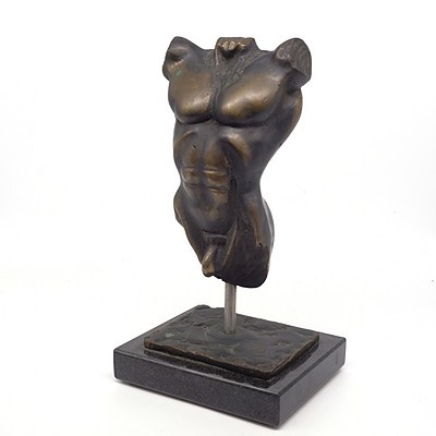 ALLEN, Brett Male Torso, 2001 Bronze 4/20