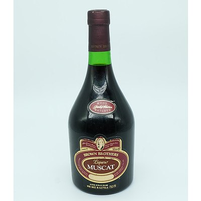 Brown Brothers Muscat Liqueur 750ml