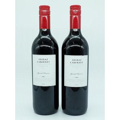 2 Bottles of South Eastern Australia 042 Special Reserve Shiraz Cabernet 750ml
