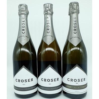 3 Bottles of Crosner Petaluma NV 750ml