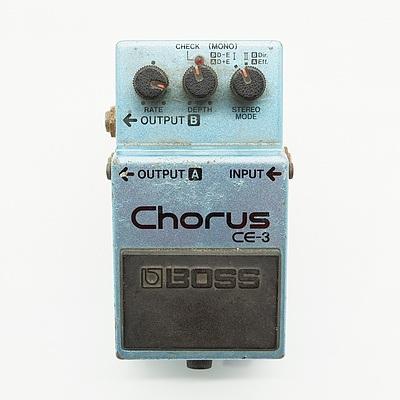 Boss Chorus CE-3 Guitar pedal