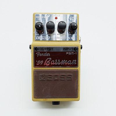 Boss Fender '59 Bassman FBM-1 Guitar Pedal