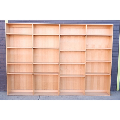 Pair of Tall Bookcases