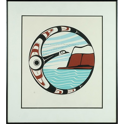 Roy Henry Vicker (b.1946) Canada Goose Limited Edition Serigraph 20/80