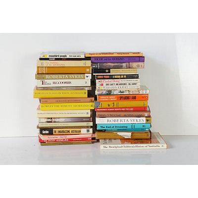 Large Group of Aboriginal Art History, History and Reference Books