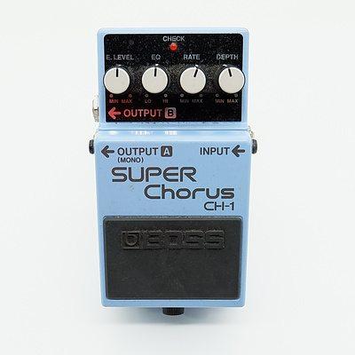 Boss Super Chorus CH-1 Guitar Pedal