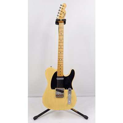 1951 Fender Custom Shop Time Machine Nocaster Tele Honey Blonde Relic with Hardcase