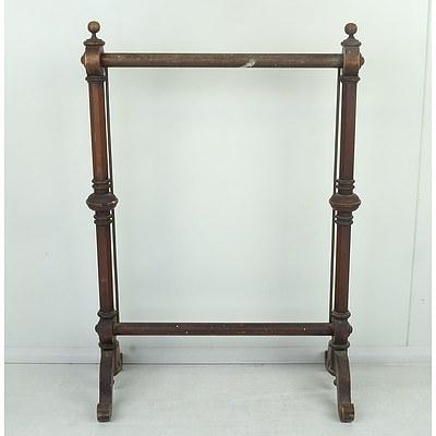 Late Victorian Firescreen Frame