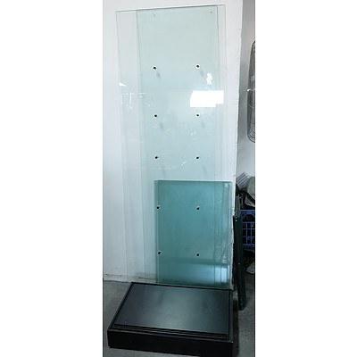 Glass Display Cabinet (Unassembled)