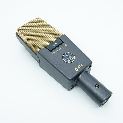 AKG C 414 XL ll Large Diaphragm Reference Microphone