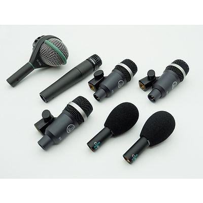 AKG Drum Microphone Kit