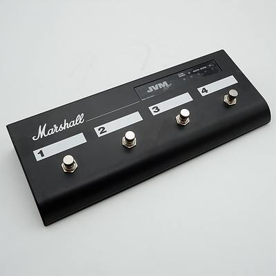 Marshall JVM 4 Way Footcontroller