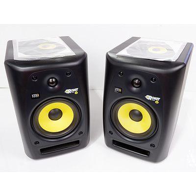 Pair of KRK RP6 G2 Active Studio Monitors