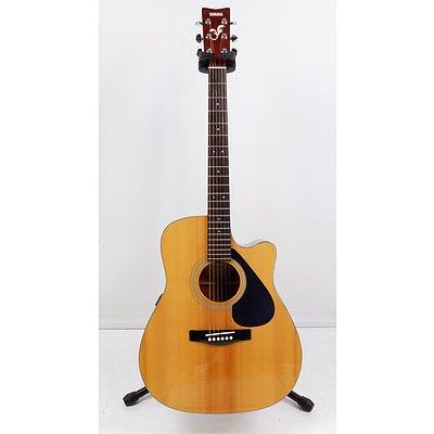 Yamaha FG411C Steel String Acoustic-Electric with Hardcase