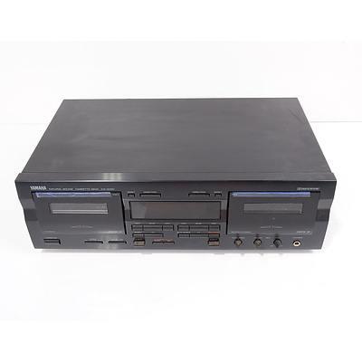 Yamaha KX-W421 Dual Cassette Deck Stereo
