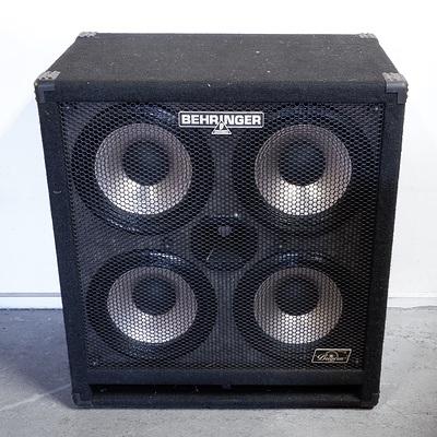 Behringer Ultrabass BA410 Bass Cabinet