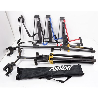 Group of Guitar Stands