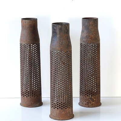 Three 75mm Shells, Found by Barrie Dexter's Children in Laos in 1960s
