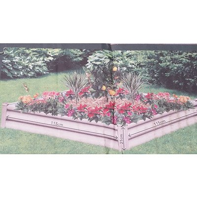 Hexies Raised Garden Bed - Brand New