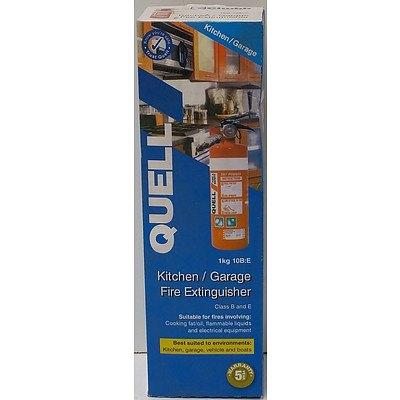 Quell Kitchen and Garage 1kg Fire Extinguisher - Brand New