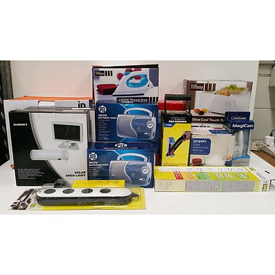 Selection of Homeware and Appliances - Lot of 26 - Brand New