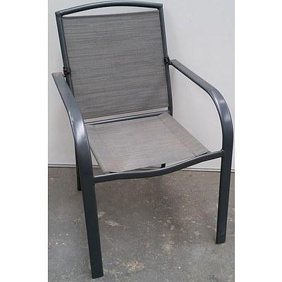 Alpine Aluminium Outdoor Chairs - Lot of Six  - Brand New