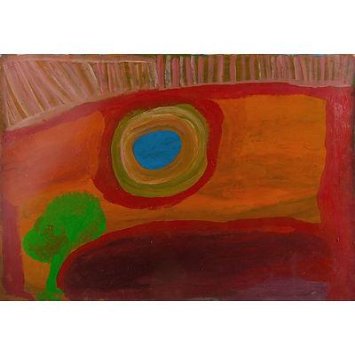 YANKARR, Paji Honeychild (1914-2004) Untitled, 1999. Provenance: Mangkaja Arts Acrylic on Paper
