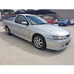 8/2004 Holden Commodore Storm VYII Utility Silver 3.8L