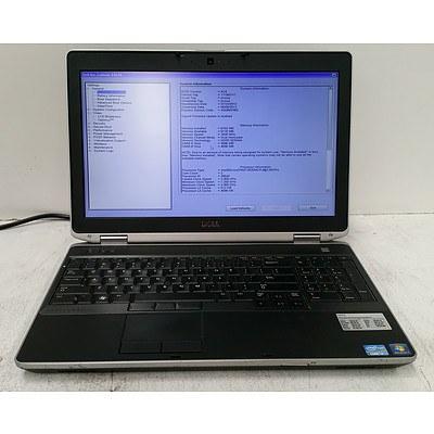 Dell Latitude E6530 15.6 Inch Widescreen Core i7 (3520M) 2.90GHz Laptop