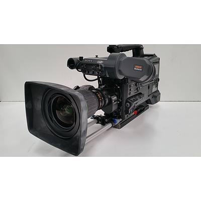 Sony PMW-500  XDCAM HD422 Camcorder and Road Case