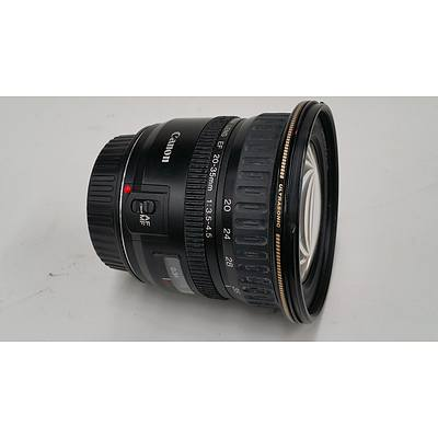 28 - 35mm Zoom Lens to Suit Canon Digital SLR Camera