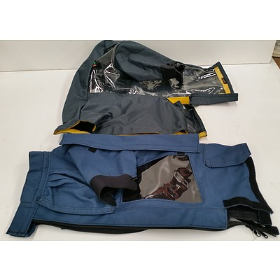 Portabrace and Kata Professional Video Camera Wet Weather Covers - Lot of Two