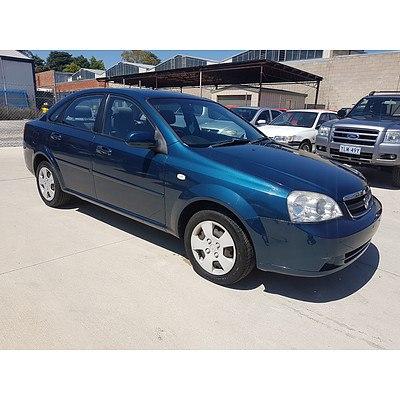 5/2007 Holden Viva  JF MY07 4d Sedan Blue 1.8L