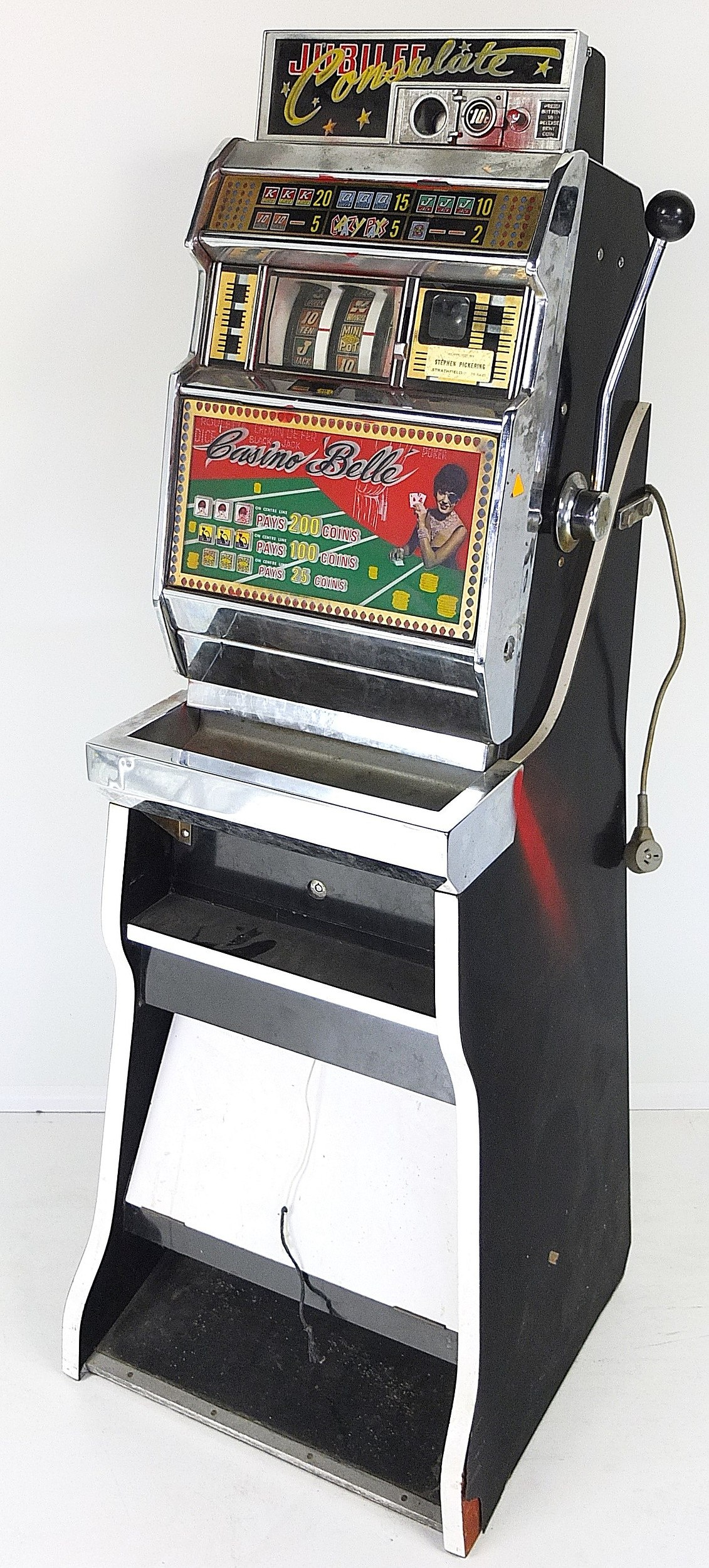 Jubilee Slot Machine For Sale