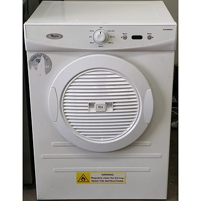 Whirlpool 6kg Clothes Dryer