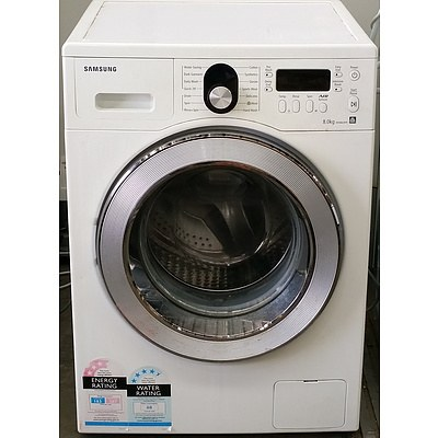 Samsung 8Kg Front Loader Washing Machine