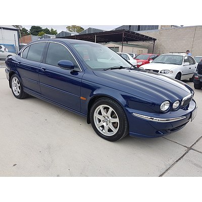 9/2002 Jaguar X Type 4d Sedan Blue 2.1L