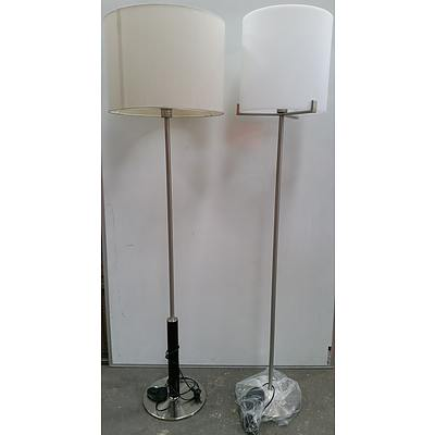 Floor Lamps - Lot of Two