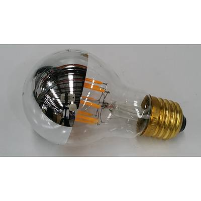 Liquid LED's 8 Watt LED Filament Light Globes - Lot of Nine